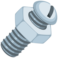 Nut And Bolt facebook messenger emoji
