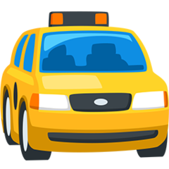 Oncoming Taxi facebook messenger emoji