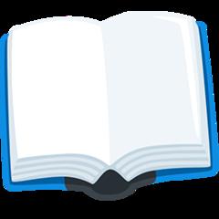 Open Book facebook messenger emoji