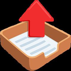 Outbox Tray facebook messenger emoji