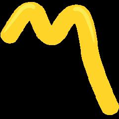 Part Alternation Mark facebook messenger emoji