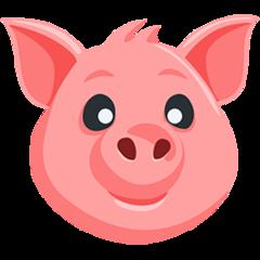 Pig Face facebook messenger emoji