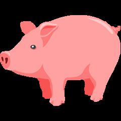 Pig facebook messenger emoji