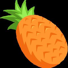 Pineapple facebook messenger emoji