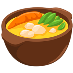 Pot Of Food facebook messenger emoji