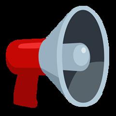 Public Address Loudspeaker facebook messenger emoji