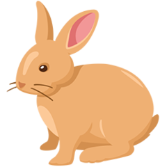 Rabbit facebook messenger emoji