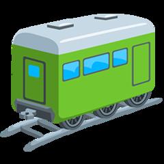 Railway Car facebook messenger emoji