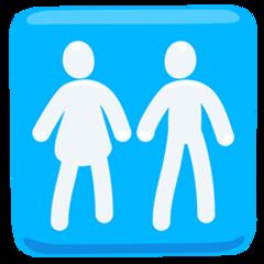 Restroom facebook messenger emoji