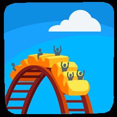 Roller Coaster facebook messenger emoji