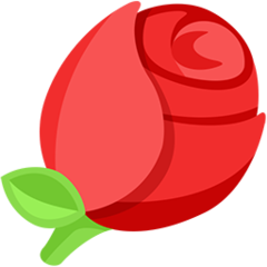 Rose facebook messenger emoji