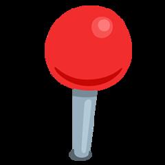 Round Pushpin facebook messenger emoji