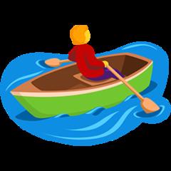 Rowboat facebook messenger emoji