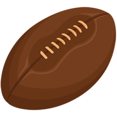 Rugby Football facebook messenger emoji