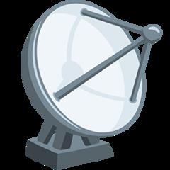 Satellite Antenna facebook messenger emoji