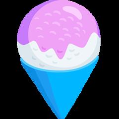 Shaved Ice facebook messenger emoji