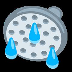 Shower facebook messenger emoji