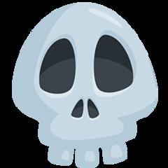 Skull facebook messenger emoji