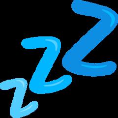 Sleeping Symbol facebook messenger emoji