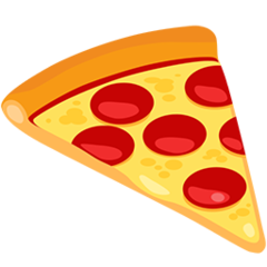 Slice Of Pizza facebook messenger emoji
