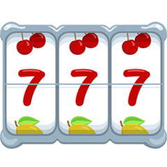 Slot Machine facebook messenger emoji