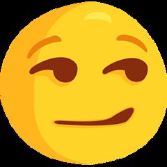 Smirking Face facebook messenger emoji