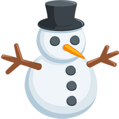 Snowman Without Snow facebook messenger emoji