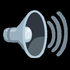 Speaker With Three Sound Waves facebook messenger emoji