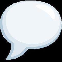 Speech Balloon facebook messenger emoji