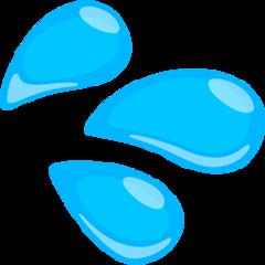 Splashing Sweat Symbol facebook messenger emoji
