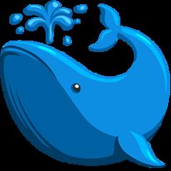 Spouting Whale facebook messenger emoji