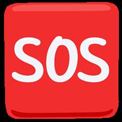 Squared Sos facebook messenger emoji