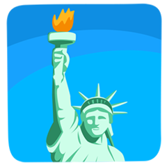 Statue Of Liberty facebook messenger emoji