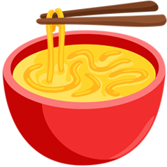 Steaming Bowl facebook messenger emoji
