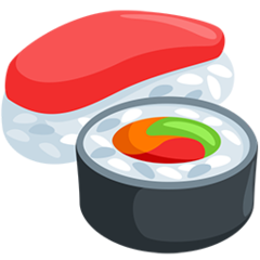 Sushi facebook messenger emoji