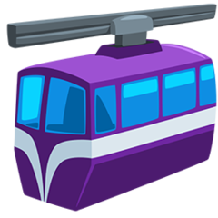 Suspension Railway facebook messenger emoji