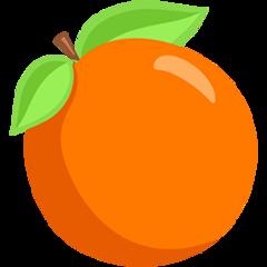 Tangerine facebook messenger emoji