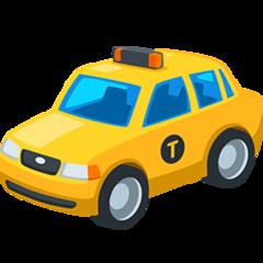 Taxi facebook messenger emoji