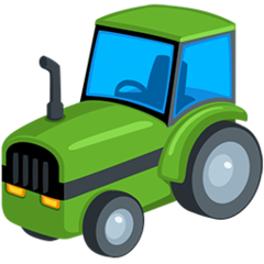 Tractor facebook messenger emoji