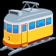 Tram Car facebook messenger emoji
