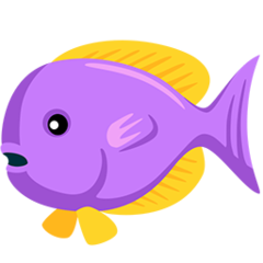 Tropical Fish facebook messenger emoji
