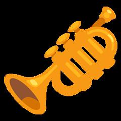 Trumpet facebook messenger emoji