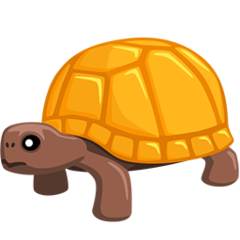 Turtle facebook messenger emoji