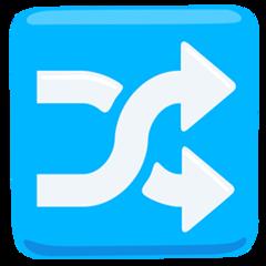 Twisted Rightwards Arrows facebook messenger emoji