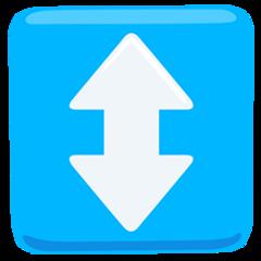 Up Down Arrow facebook messenger emoji