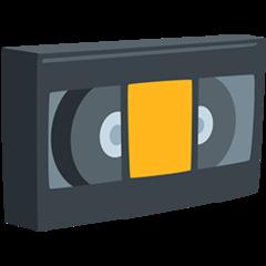 Videocassette facebook messenger emoji