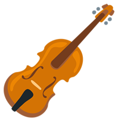 Violin facebook messenger emoji