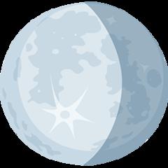 Waning Gibbous Moon Symbol facebook messenger emoji