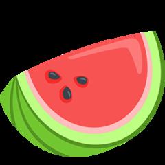 Watermelon facebook messenger emoji