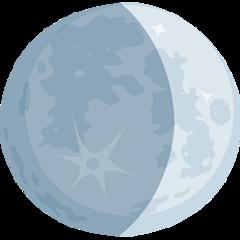 Waxing Crescent Moon Symbol facebook messenger emoji